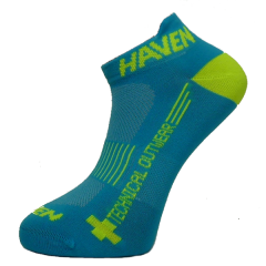 Ponožky HAVEN SNAKE Silver NEO blue/yellow 2 páry