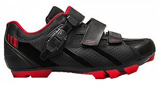 MTB tretry FLR F-65 Black/Red