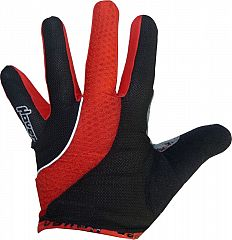 Rukavice HAVEN Snuggle Lite long - black/red