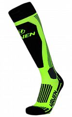 Zimní kompresní podkolenky HAVEN Compressive Ski green- LIGHT COMPRESSION